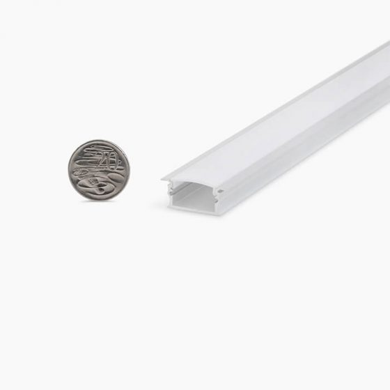 HLP3119 Recessed LED Profile With Opal Diffuser