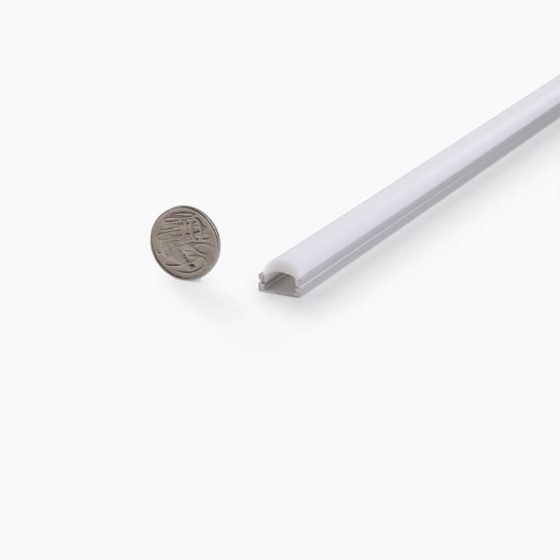 HLP3668 Flat Slim Lens LED Mounting Profile