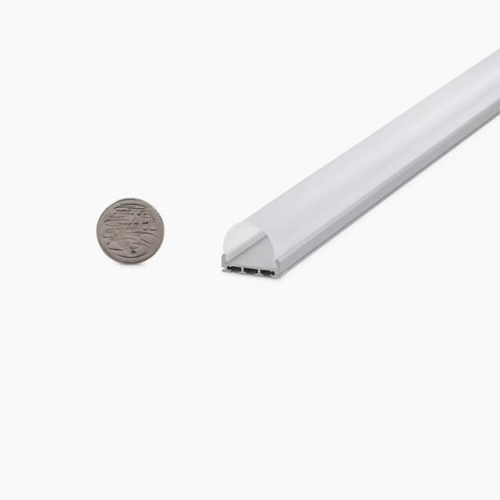 HLP3740 Round DOME LED Mounting Profile