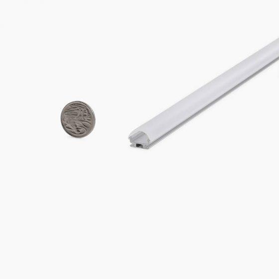 HLP3766 Rounded Tubular LED Mounting Profile