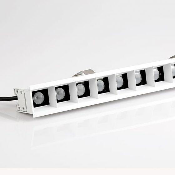 Superlight Recessed Ceiling Linear Luminaire SL9633