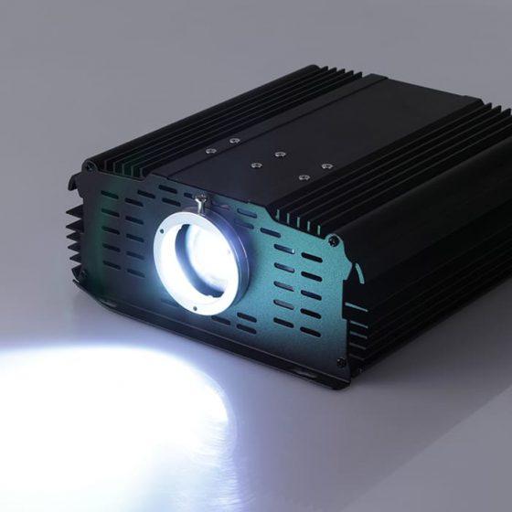 Superlight Fibre Optic Light Engine