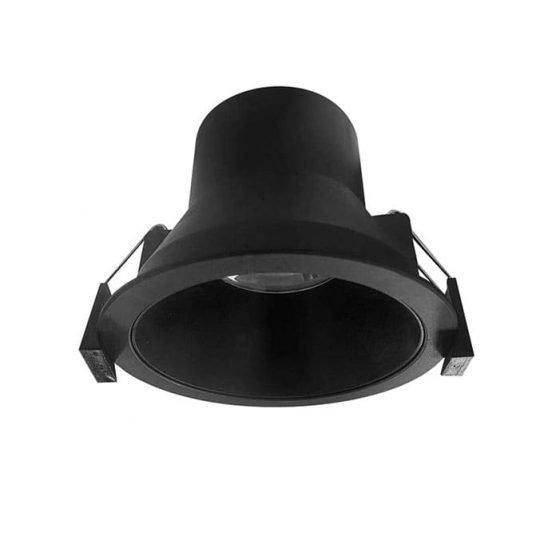Superlight D90R Express Mini Trim LED Downlight in Black