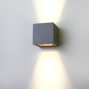 Superlight exterior LED Cube Wall Light
