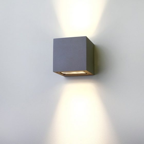 Superlight exterior LED Cube Wall Light