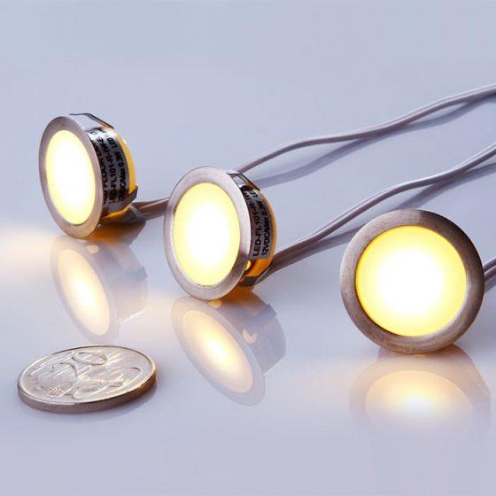 SL3030 Stainless Steel LED Bullet Fittings 12VDC