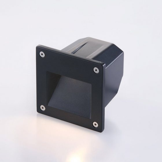 SL3676 Recessed Exterior LED Wall Light Fixture