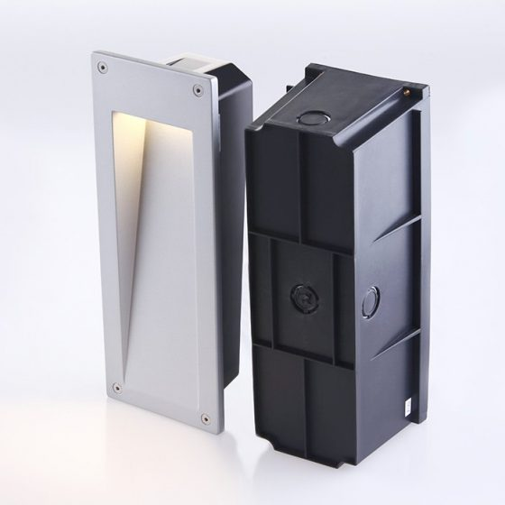 SL3677 Recessed Exterior LED Wall Light Fixture