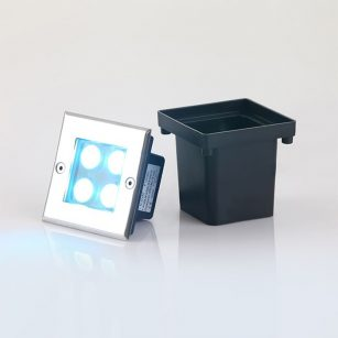 SL3164 Neptune Inground LED Uplight Square