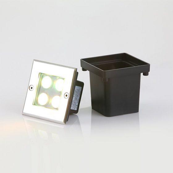 SL3164 Neptune Inground LED Uplight Square