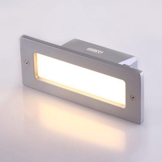 SL3673 Recessed Exterior LED Wall Light