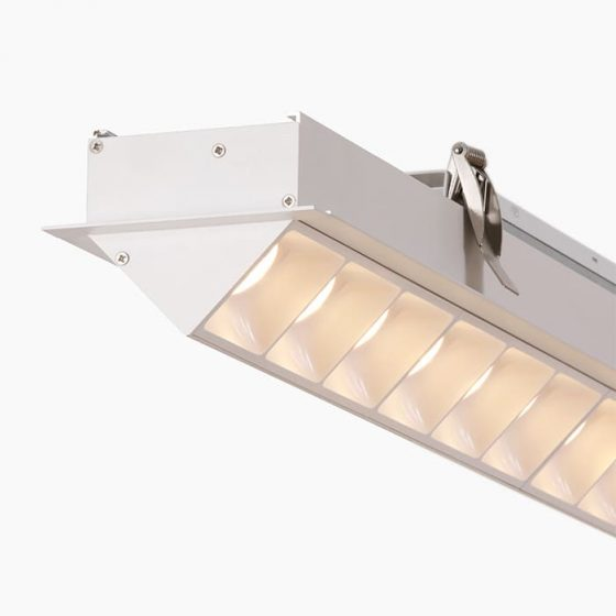 Superlight LUS558 Asymmetrical LED profile linear led profile