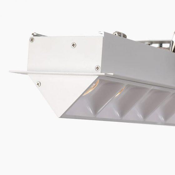Asymmetrical LED profile linear led profile