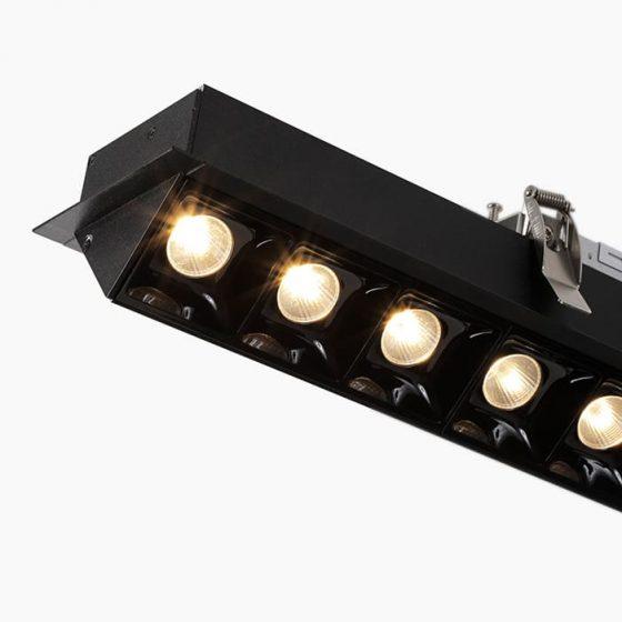 Asymmetrical LED profile linear led profile by Superlight