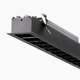 Superlight LUS558R Ceiling Recessed Linear LED Lighting profile lighting