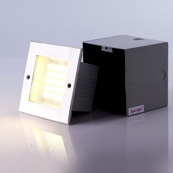 SL3698 Exterior LED Wall/Steplight