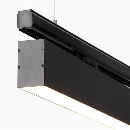 Superlight track mounted profile