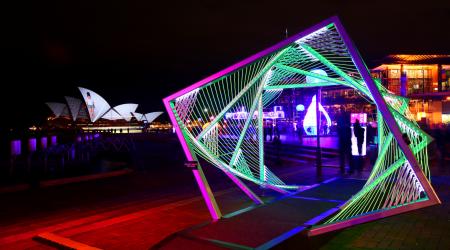 The Vivid Festival Haron Robson Lighting Project